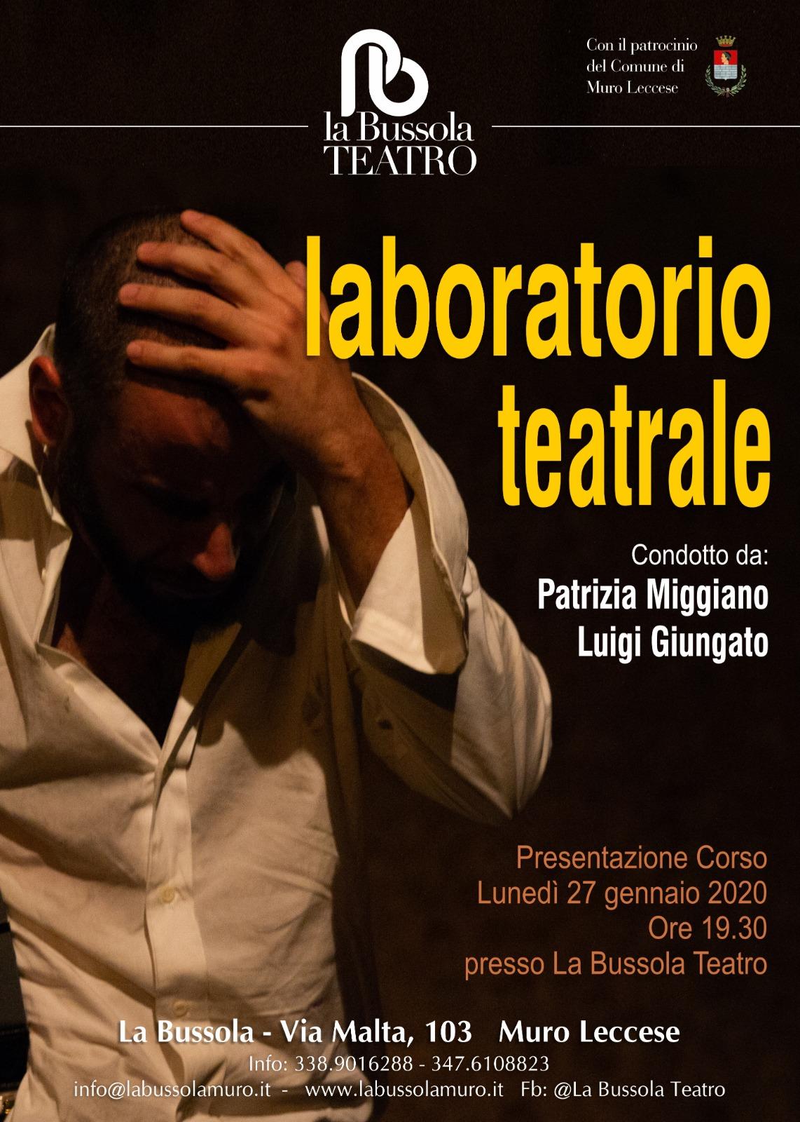 laboratorio teatrale 2020