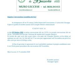 la_bussola_convocazione_assemblea_ottobre_2020